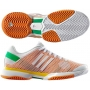 Adidas Barricade 8 by Stella McCartney Womens Tennis Shoes (Wht/ Org/ Ylw)