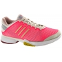 Adidas Barricade 8 by Stella McCartney Womens Tennis Shoes (Pnk/ Gry/ Wht)
