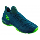 Yonex Men's Power Cushion Fusion Rev 3 Clay Court Tennis Shoes (Navy) - Men's Tennis Shoes