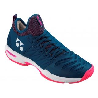 Yonex Women s Power Cushion Fushion Rev 3 Tennis Shoe (Navy Pink ... fe163bcc55b