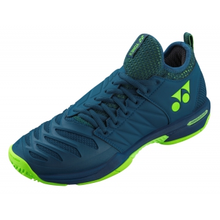Yonex Men's Power Cushion Fusion Rev 3 Tennis Shoes (Navy)