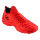 Yonex Men's Power Cushion Fusion Rev 3 Tennis Shoes (Red) - Men's Tennis Shoes
