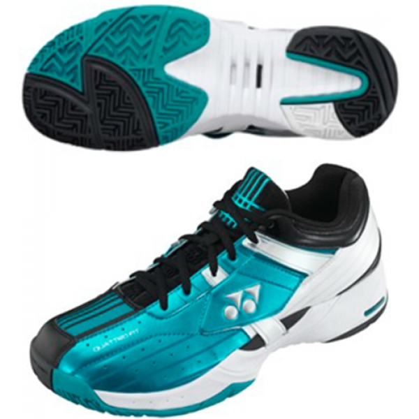 Yonex Men's Power Cushion Light Tennis Shoes (Emerald)