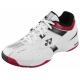 Yonex Men's Power Cushion Light Tennis Shoes (White/ Wine Red/ Black) - Yonex Tennis Shoes