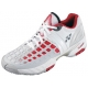 Yonex Men's Power Cushion Pro Tennis Shoes (White/Red) - Yonex Tennis Shoes