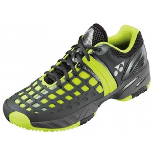 Yonex Men's Power Cushion Pro CL Tennis Shoes (Yellow/Dark Grey)