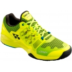 Yonex Men's Power Cushion Sonicage Tennis Shoes (Lime Yellow) - Men's Tennis Shoes