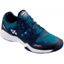 Yonex Men's Power Cushion Sonicage Wide Tennis Shoes (Blue/Navy)