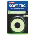 Tourna Soft Tac Neon Green Overgrip (3 Pack) - Tennis Over Grips