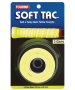 Tourna Soft Tac Neon Yellow Overgrip (3 Pack) - Tourna Grips