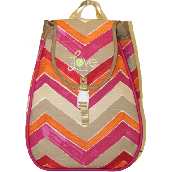 40 Love Courture Sunset Chevron Maddie Backpack