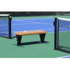 SunTrends Court Bench 4' - Suntrends Tennis Benches Tennis Equipment