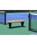 SunTrends Court Bench 4' - Tennis Benches