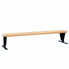 SunTrends Court Bench 8' - Tennis Benches 7.5+ Feet