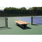 SunTrends Flat Two Sided Bench 4' - Suntrends Tennis Benches Tennis Equipment