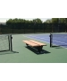 SunTrends Flat Two Sided Bench 8' - Tennis Benches 7.5+ Feet