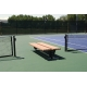 SunTrends Flat Two Sided Bench 8' - Suntrends Tennis Equipment