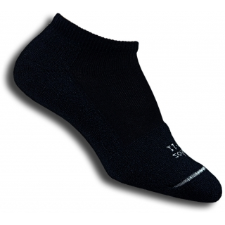 Thorlo T1CCU-10 Micro-Mini Black Socks