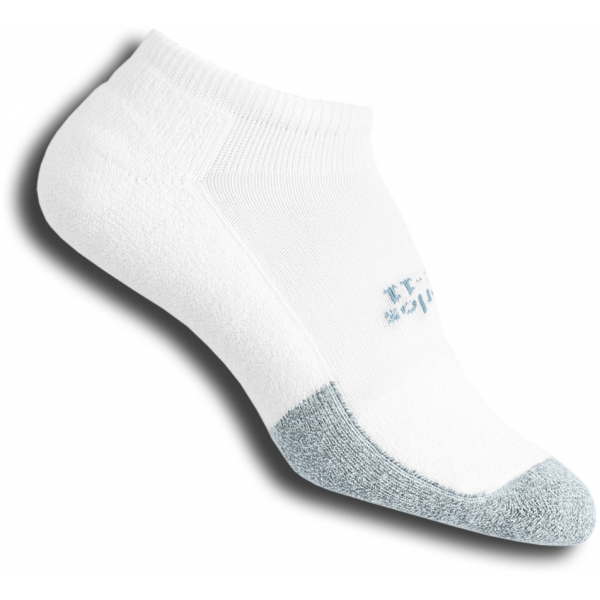 Thorlo T1CCU-10 Micro-Mini White Socks