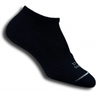 Thorlo T1CCU-12 Micro-Mini Black Socks - Thorlo Apparel