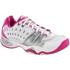 Prince Women's T22 Tennis Shoes (White/ Pink) - Prince Tennis Shoes