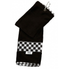 Glove It Tennis Towel (Checkmate) - Tennis Accessories