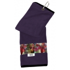 Glove It Tennis Towel (Purple Tropical) - Glove It Tennis Bags and Backpacks