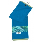 Glove It Tennis Towel (Aqua Leaf) - Glove It Tennis Bags and Backpacks