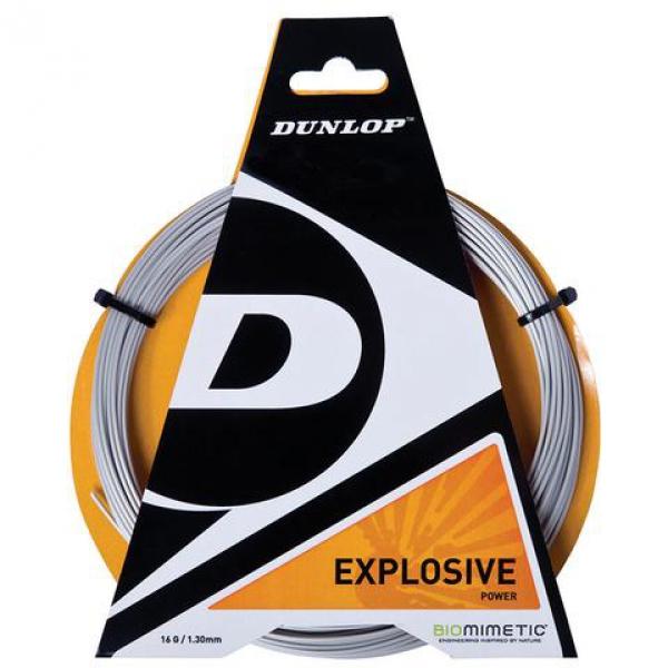 Dunlop Explosive Polyester 18g Tennis String (Set)