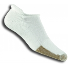 Thorlo T-11 Rolltop White Socks - Thick Cushion Socks Tennis Apparel