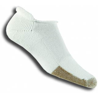 Thorlo T-11 Rolltop White Socks