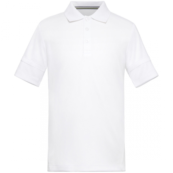 Fila Boy's Core Performance Tennis Polo (White)