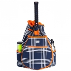 Ame & Lulu Abbey Plaid Kinglsey Tennis Backpack - Women's Tennis Backpacks