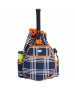 Ame & Lulu Abbey Plaid Kinglsey Tennis Backpack - Tennis Racquet Bags