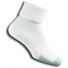 Thorlo TC-11 Cuff White Socks - Men's Socks
