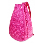 All For Color Pink Geo Gem Tennis Backpack - All For Color