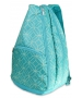 All For Color Turquoise Geo Gem Tennis Backpack (PRE-ORDER) - All For Color