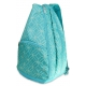 All For Color Turquoise Geo Gem Tennis Backpack - Designer Tennis Bags