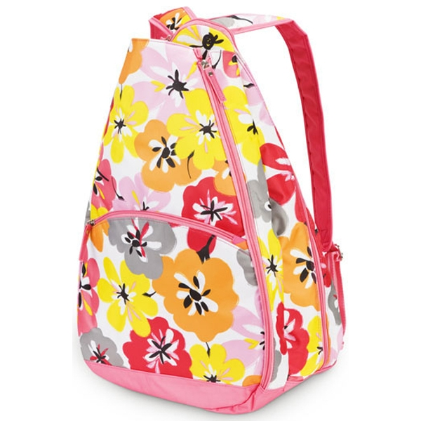 All For Color Cotton Blossom Tennis Backpack