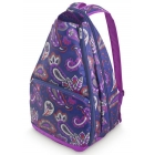 All For Color Vivid Paisley Tennis Backpack - Designer Tennis Bags