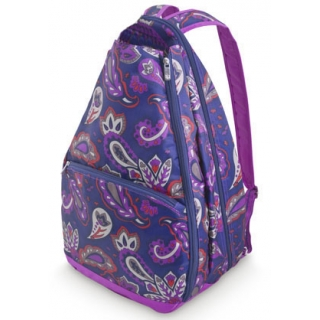 All For Color Vivid Paisley Tennis Backpack