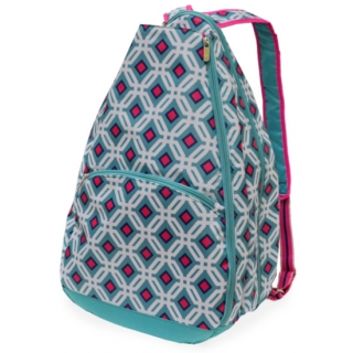 All For Color Ocean Graphic Tennis Backpack