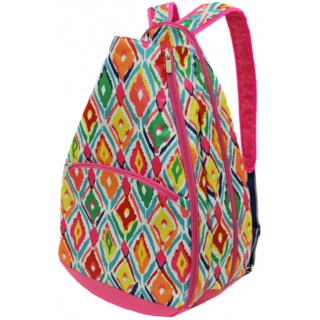 All For Color Multi Ikat Tennis Backpack