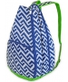 All For Color Nautical Tide Tennis Backpack - All for Color Tennis Bags