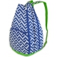 All For Color Nautical Tide Tennis Backpack - Designer Tennis Bags