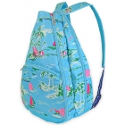 All For Color Island Time Tennis Backpack - Designer Tennis Bags