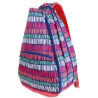 All For Color Tribal Stripe Tennis Backpack - All For Color