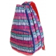 All For Color Tribal Stripe Tennis Backpack - Designer Tennis Bags