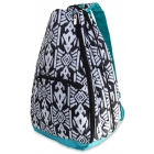 All For Color Aztec Ikat Tennis Backpack - All For Color