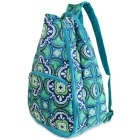 All For Color Pacific Splash Tennis Backpack (PRE-ORDER) - All for Color Tennis Bags